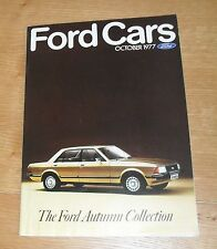 Ford Brochure 1977 Escort RS Mexico RS2000 Capri S 3.0 V6 Cortina 2.0 Granada