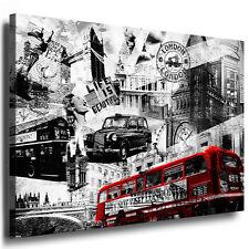 Bild auf Leinwand London / Abstrakt Kunstdruck Keilrahmenbild kein Poster N775