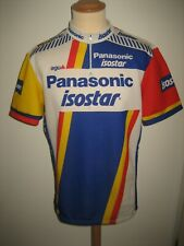 Panasonic Isostar 1988 vintage Holland jersey shirt cycling maillot size XXL