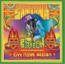 Santana-Corazón - Live from Mexico  (UK IMPORT)  CD with DVD NEW