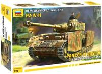 PZ.KPFW IV AUSF.H - WW II TANK (GERMAN WEHRMACHT MARKINGS) #5017 1/72 ZVEZDA
