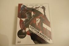 Captain America Winter Soldier Blu-ray Steelbook NOVAMEDIA Nova Media MINT