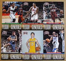 2012-13 Panini Threads Floor Generals Complete Set #1-20 - Kyle Irving