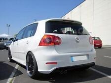VW GOLF HECKANSATZ + REFLEKTOREN Heckschürze Stoßstange V 5 R32 GTI GT TD R Line