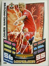 Match Attax 2012/13 Premier League - #226 James Ward-Prowse - Southampton