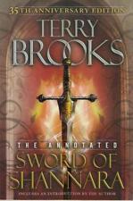 ANNOTATED ~ SWORD OF SHANNARA ~ 1st PRNT OF 35th ANNIVERSARY EDITION ~ BROOKS HC