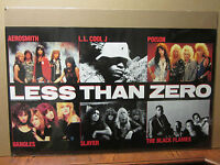 Vintage Less than Zero movie poster 9444