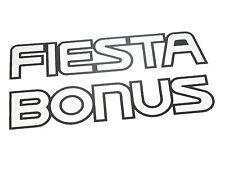 Original Ford Fiesta Bonus Aufkleber MK3 XR2i 16V Turbo 1.4 1.6i 1.8 1989-1997
