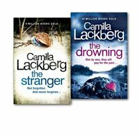 Camilla Lackberg Collection Patrick Hedstrom and Erica Falck 2 Books Set Pack