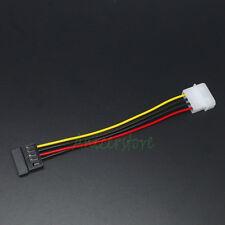100pcs Wholesale IDE 4 Pin to 15pin SATA ATA Serial CD-Rom DVD HDD Power Cable