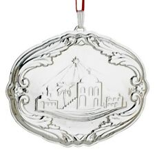 2013 Reed & Barton Sterling Francis First Pattern Annual Songs Xmas Ornament