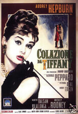 Breakfast at Tiffany's 1961 Audrey Hepburn movie poster print #3
