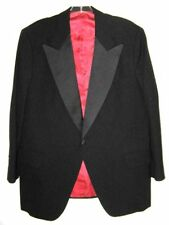 DUNHILL TUXEDO JACKET BLACK SINGLE BUTTON MENS SIZE M 40 Vintage 1980's