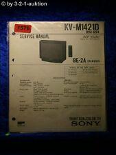 Sony Service Manual KV M1421D (#1576)