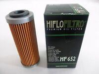 HIFLO FILTRO OLIO HF652 PER KTM 350 EXC-F  2012  2013