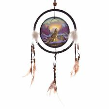 Decorative Howling at the Sunset 16cm Dreamcatcher Spiritual Gift Novelty