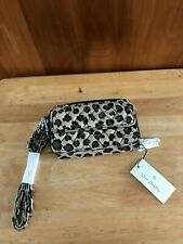 """Vera Bradley All In One Crossbody for iPhone 6 """"Leopard"""" NWT $68."""