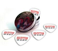 Led Zeppelin 5 X Logo Guitar Picks in Tin Plectrums
