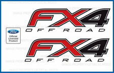 set of 2: 12 13 14 Ford F150 FX4 Off Road Decals F offroad Stickers 4x4 Bed Side