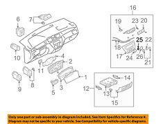 MITSUBISHI OEM 03-06 Lancer Dash Cluster Switch-Fan Switch MR500932