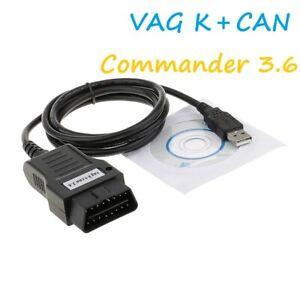 VAG K+CAN COMMANDER 3.6 Popular VAG Diagnostic Tool For Audi For VW For Skoda
