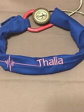 Stethoscope Cover Embroidered Great for Nurse RN RRT PARAMEDIC EMT