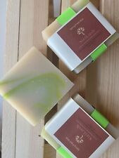 Handmade Shea Butter Soap Bar Spring Fresh Aloe  5 oz Bar ~FREE Sample FREE SHIP