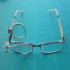 Watchmakers Clip On Double Eye Glass 3.3 x 3.3 Magnification Free Post