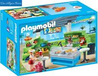 Playmobil 6672 Shop m. Imbiss Summer Fun Kiosk Imbiss-Stand Pommes Neu OVP