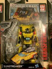 Transformers Generations Combiner Wars Deluxe Class SUNSTREAKER NEW! LQQK!!