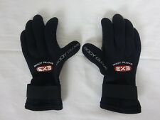 Body Glove 3mm Ex3 Five Finger Glove ~ Extra Small