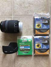 Sigma AF 28-300mm DG for Nikon with 4 Filters