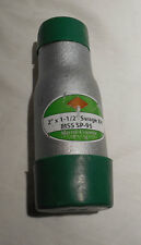"""4 NEW  SMITH COOPER 2""""x 1-1/2"""" SWAGE NIPPLES XH ,MSS SP95,SCHEDULE 80,GREEN CAP"""