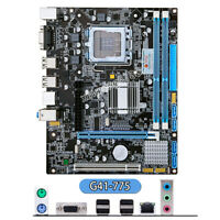 NEW for Intel G41 Socket LGA 775 MicroATX Computer Motherboard DDR3 Mainboard