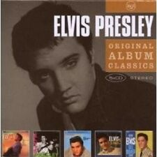 "ELVIS PRESLEY ""ORIGINAL ALBUM CLASSICS"" 5 CD BOX NEU"