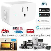 WiFi Smart Plug Socket Switch Outlet For Amazon Alexa Google Home Echo Android