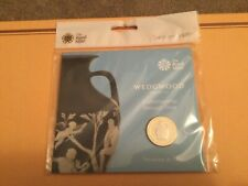 2019 ROYAL MINT WEDGWOOD £2 POUND COIN PACK BU SEALED.