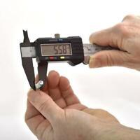 Digitaler Messschieber Schieblehre Messlehre 0-150mm mit LCD Display Batterie