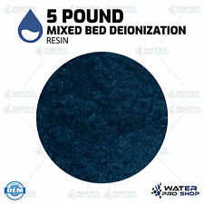 5 Pound Replacement Mixed Bed Bulk Deionization Resin (Color Changing), RO/DI
