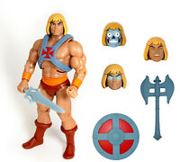 HE-MAN FILMATION super7 cartoon action figure NEW BOX MAI APERTO motu vintage