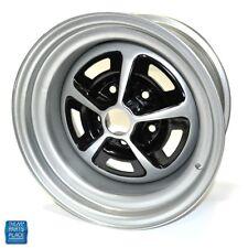 69 Camaro 69-70 ChevelleNova Chevy IIEl CaminoSS Wheel 15-7 Silver & Black EA