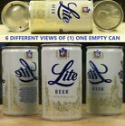 Lite Beer 12 ounce  P/T Can Miller Milwaukee Wi Azusa Ca & Fort Worth Texas 97F