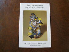 Musee International d`Horlogerie Swiss clock museum catalog of show 1982
