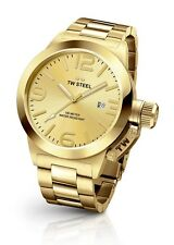 TW Steel Watch * CB101 Canteen Gold 45MM Steel COD PayPal Ivanandsophia