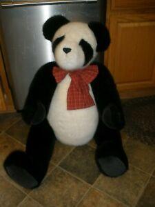 "Super Rare 2002 Boyd's Bears ""Pandora"" 40 inch Panda Bear Jointed HTF W/Tags"