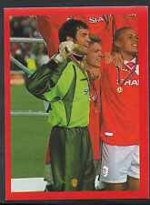Futera Football Sticker - Europe 2000 - Man Utd - No 37 - Massimo Taibi