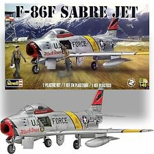 REVELL 1/48 NORTH AMERICAN F-86F SABRE JET MODEL KIT
