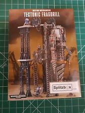 40k Terrain sector mechanicus. Techtonic Fragdrill.