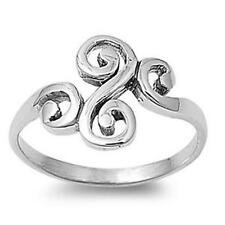 CELTIC RING Genuine 925 STERLING SILVER Ring  Size 5 6 7 8 9 10 11 / K - W