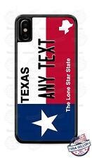 Texas State Flag License Phone Case For iPhone 12 Samsung A11 A21 LG Google